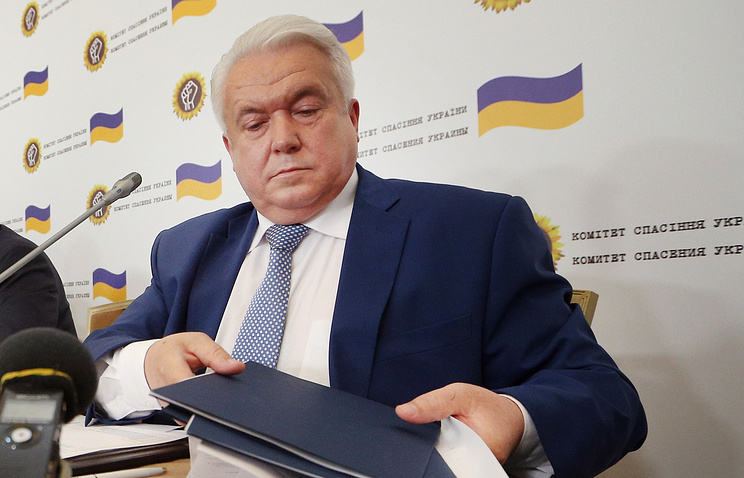 Verkhovna Rada's former deputy Vladimir Oleinik