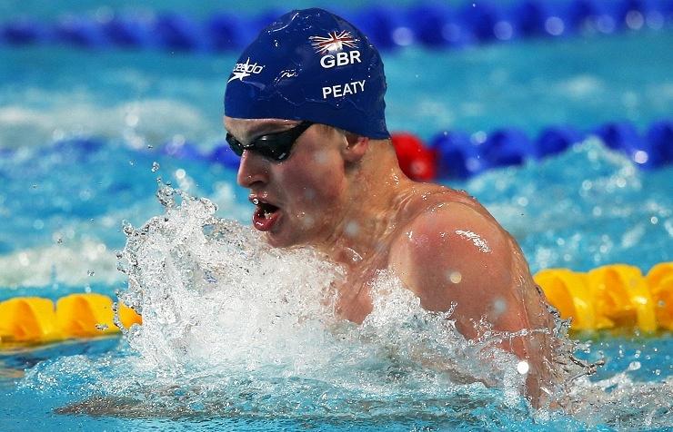 British swimmer Adam Peaty