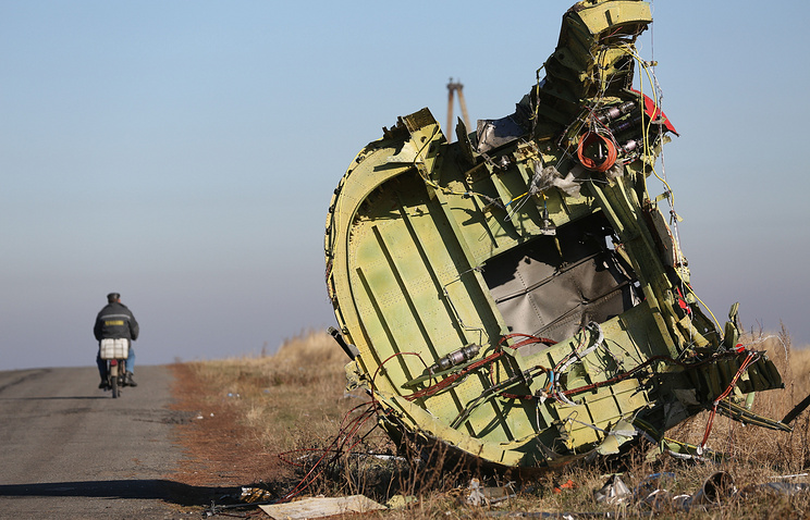 The site of MH17 crash in Donbas (archive)