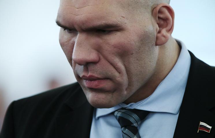Former two-time WBA heavyweight champion Nikolay Valuev
