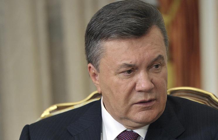 Ukraine's former president Viktor Yanukovych
