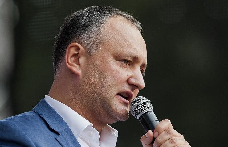 Former Moldova's Vice-Premier Igor Dodon