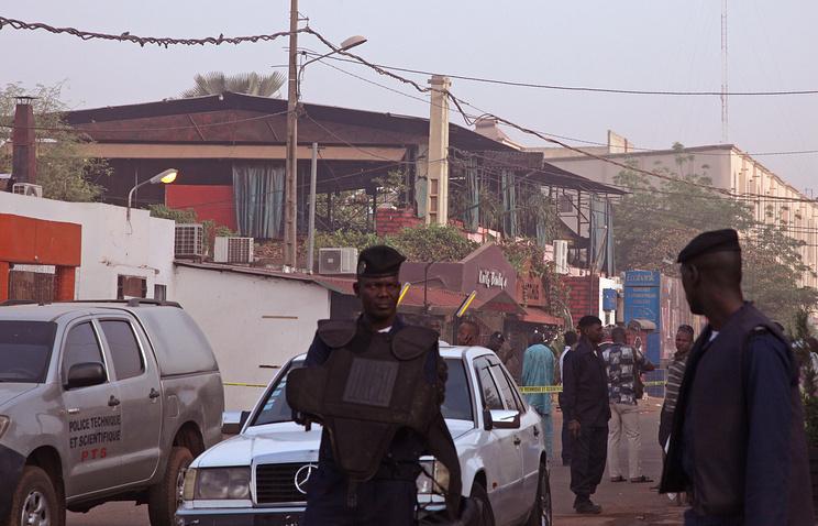 Mali police in Bamako