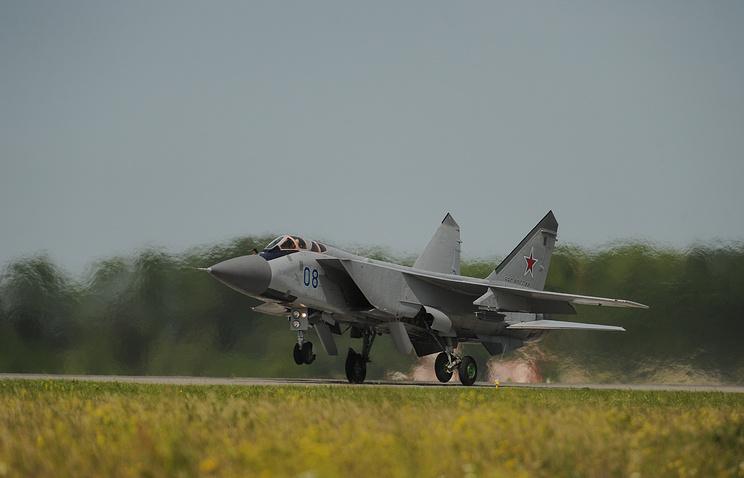 MiG-31 interceptor