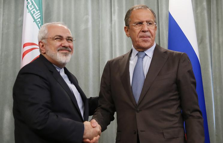Javad Zarif and Sergey Lavrov (archive)
