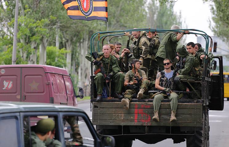 Militia fighters (archive)