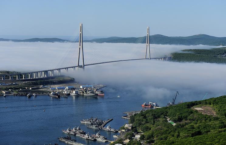 Russia's Far Eastern city of Vladivostok