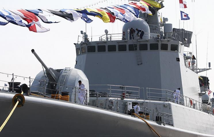 Chinese Shenyang missile destroyer