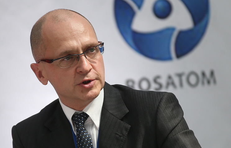 Rosatom CEO Sergey Kiriyenko
