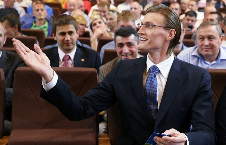 Andrey Kirilenko, the newly-elected president of the Russian Basketball Federation