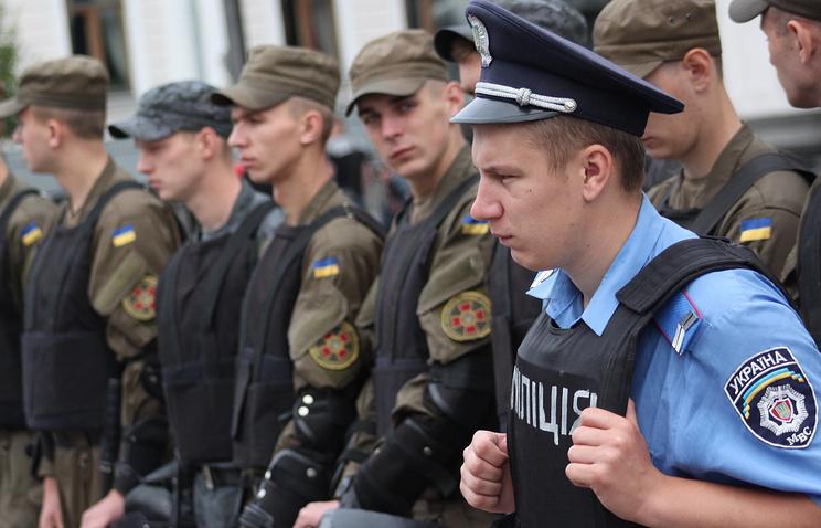 Police in Kiev (archive)