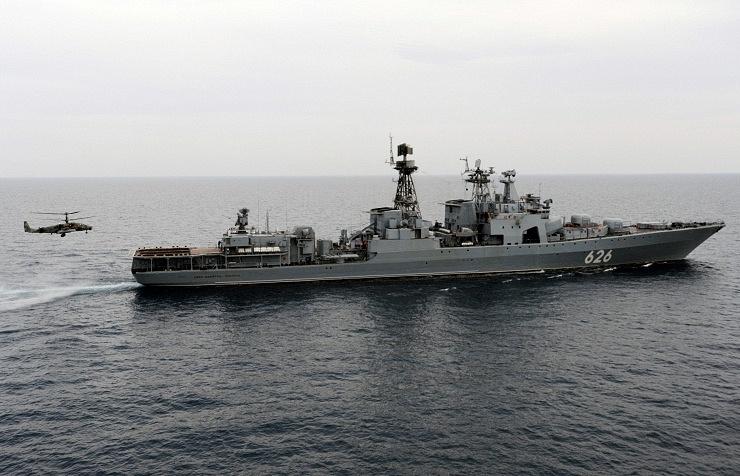 Udaloy-class large antisubmarine warfare ship Vice-Admiral Kulakov