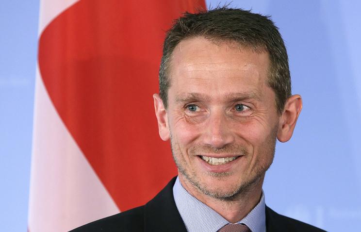 Danish Foreign Minister Kristian Jensen