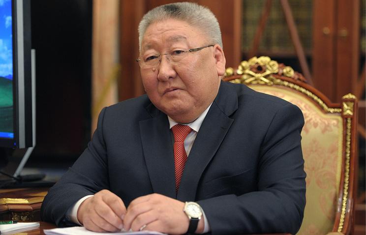 Head of Russia's Republic of Sakha (Yakutia) Yegor Borisov