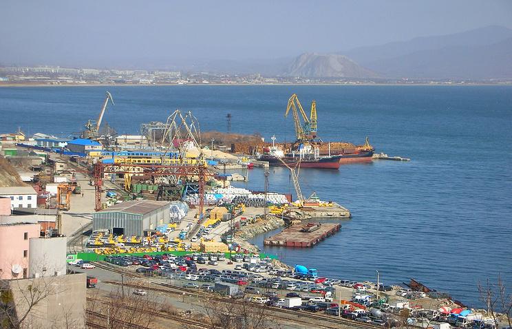 The port of Nakhodka