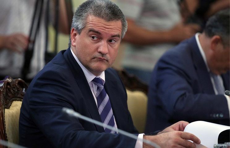 Crimean leader Sergey Aksyonov