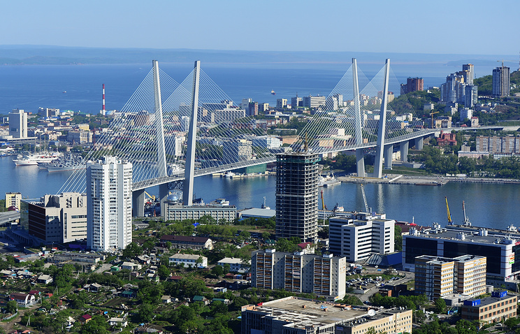 View over Vladivostok