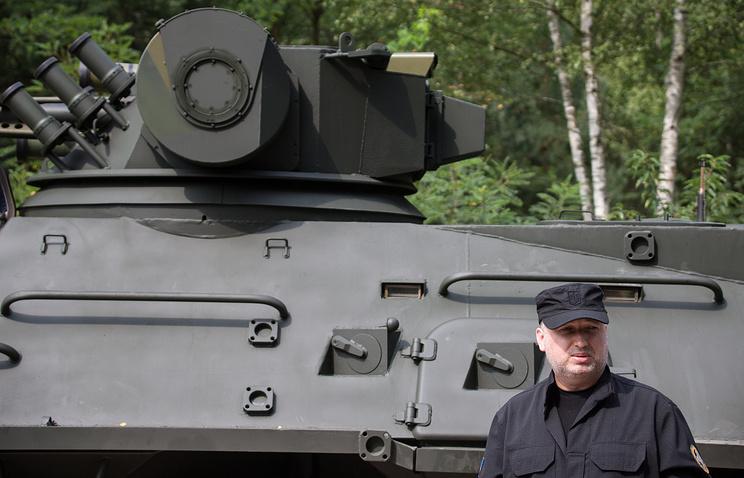 Secretary of the Ukrainian National Security and Defense Council Oleksandr Turchynov
