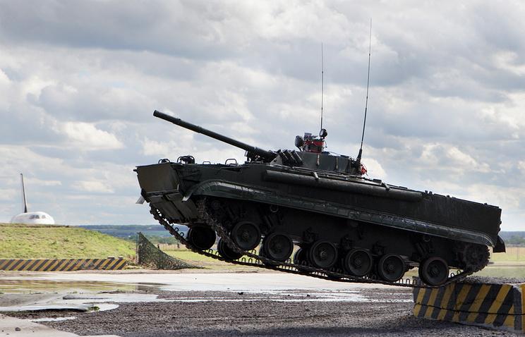 Russia's BMP-3 combat vehicle