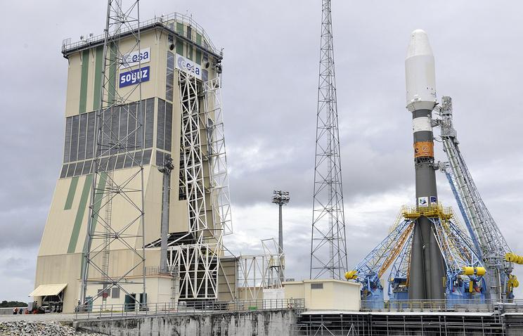 """Soyuz"" in Kourou, French Guiana, archive"
