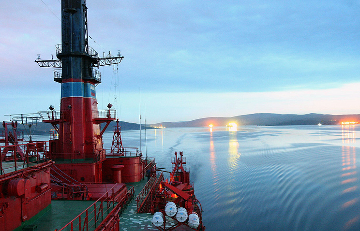 "Russian nuclear powered icebreaker ""Yamal"""