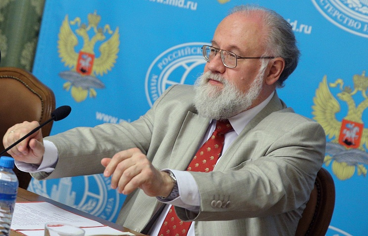 Head of Russia's Central Elections Commission Vladimir Churov