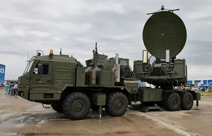The Krasukha-2 Electronic Warfare System