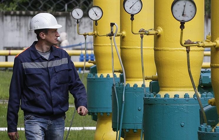 Ukrainian gas storage