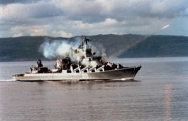 The Marshal Ustinov cruiser (archive)