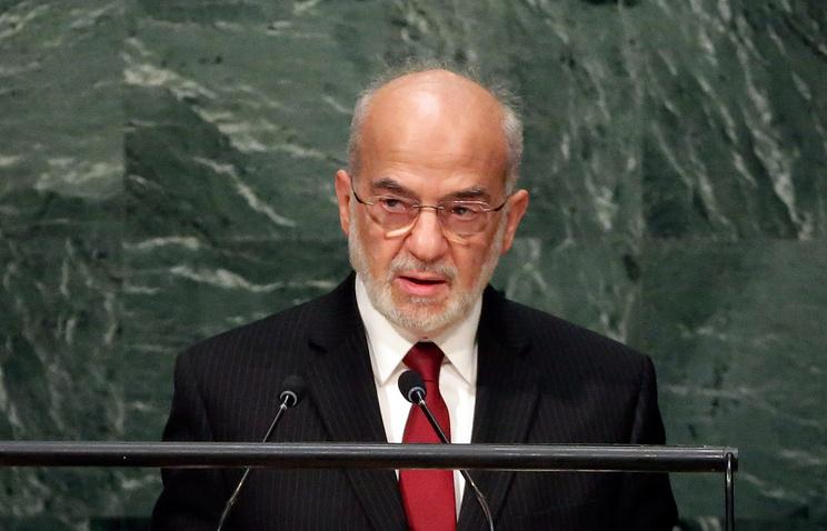 Iraq's Foreign Minister Ibrahim al-Jaafari