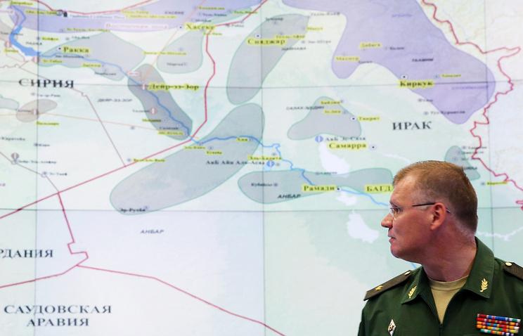 Russian Defense Ministry spokesman Maj. Gen. Igor Konashenkov