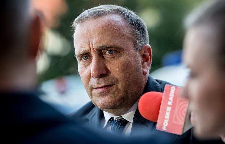 Polish Foreign Minister Grzegorz Shetyna