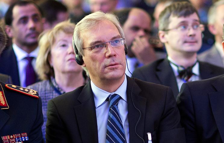 Russia's envoy to NATO Alexander Grushko