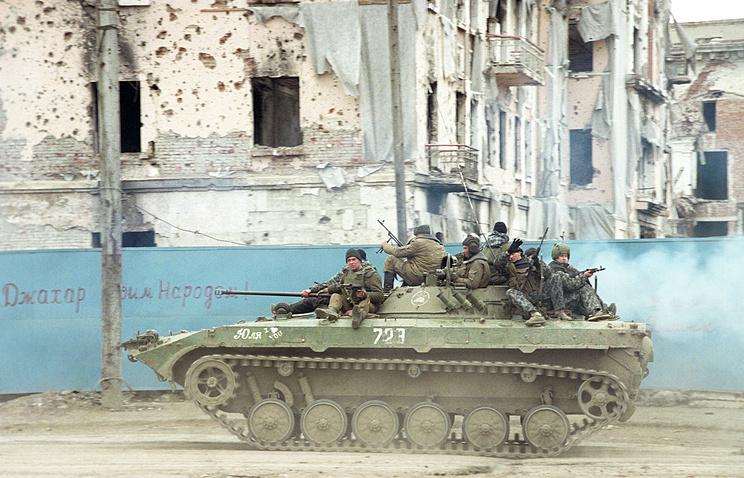 Chechnya, Grozny, 1996