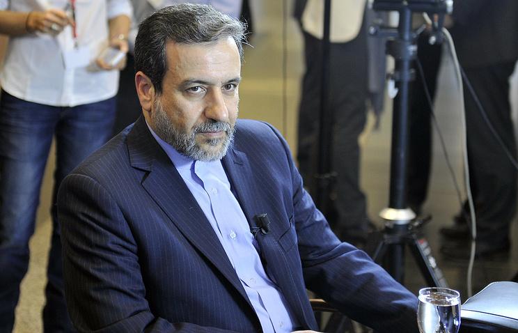Iranian Deputy Foreign Minister Abbas Araghchi