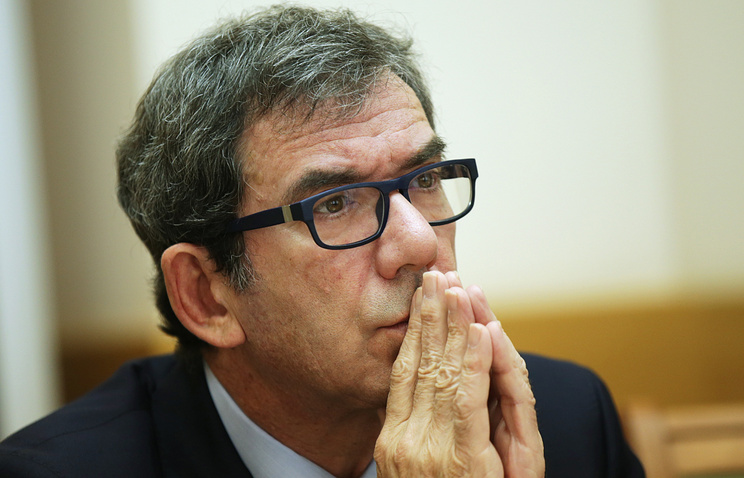 French Ambassador to Russia Jean-Maurice Ripert