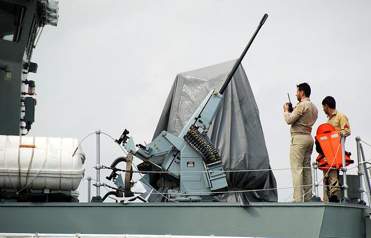 Irani navy personal