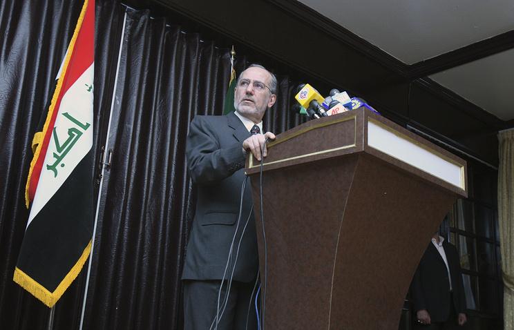 Iraq's former national security adviser, Mowaffak al-Rubaie