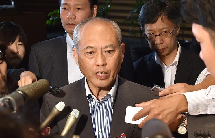 Tokyo Governor Yoichi Masuzoe
