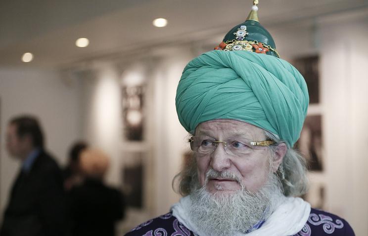 Chief Mufti of Russia Talgat Tadzhuddin