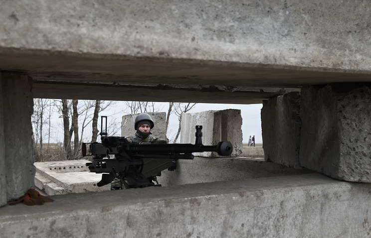 Ukrainian army checkpoint (archive)