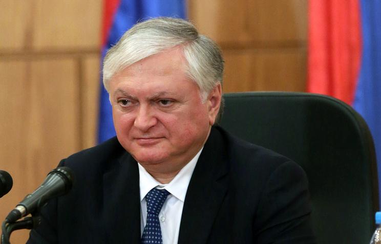 Armenian Foreign Minister Eduard Nalbandyan