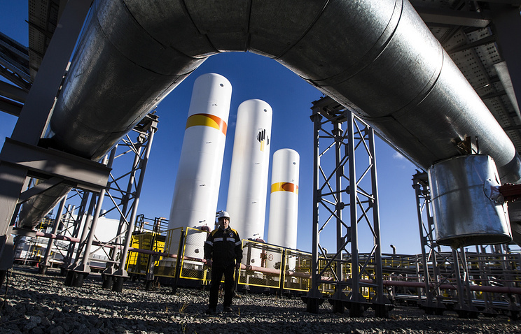 Oil and gas field of Rosneft