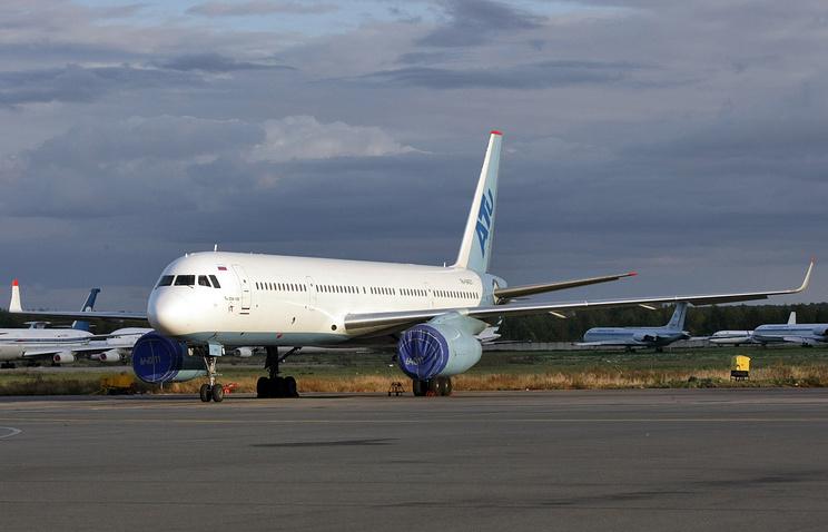 Tu-204 passenger plane