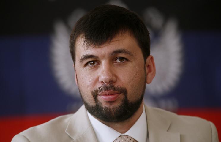 DPR envoy Denis Pushilin