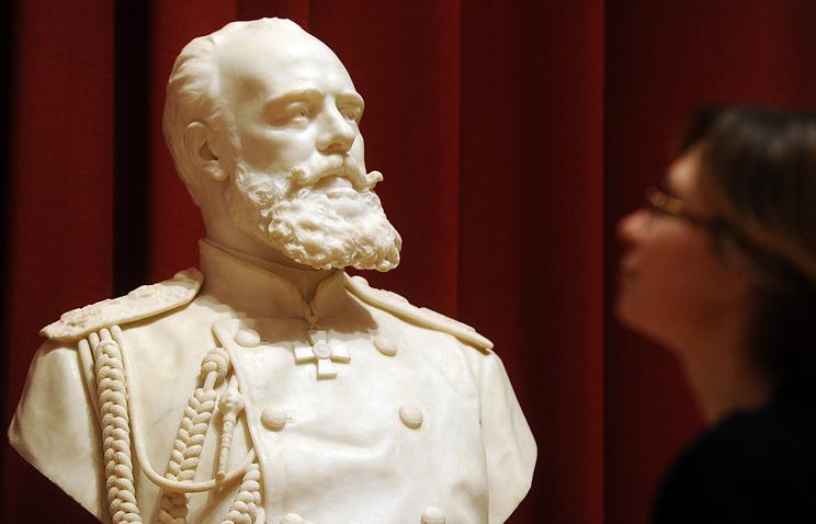Bust of Czar Alexander III