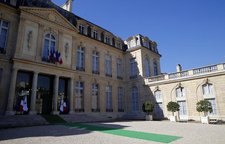 Elysee Palace in Paris