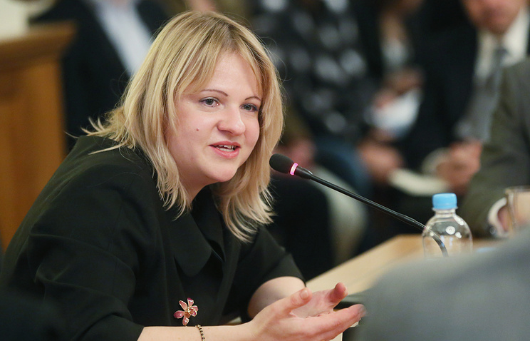 Russian Sherpa at G20 Svetlana Lukash