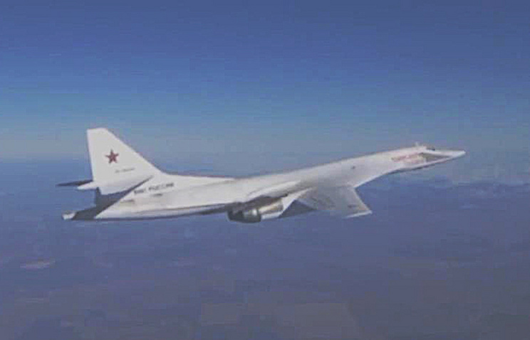 Russia's Tupolev Tu-160 strategic bomber