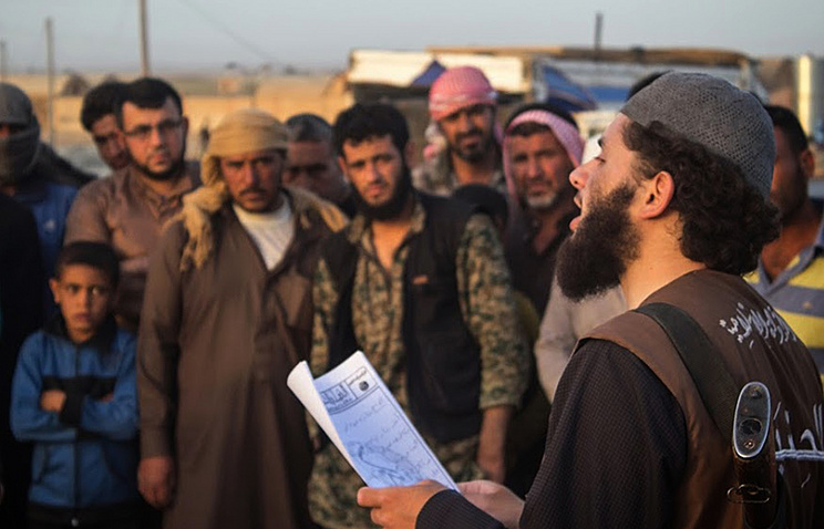 Member of the Islamic State group, Raqqa, Syria
